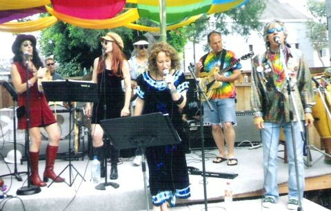 Performing with Lauri Reimer, Bettina Spier, Karen Hart, Sam Clay and The Canaligators at the Venice Centennial Beat Ball.